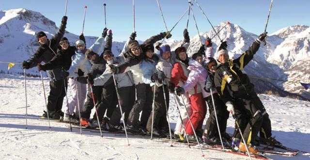 אתר הסקי האיטלקי ססטרייר (Sestriere)  (צילום: יח