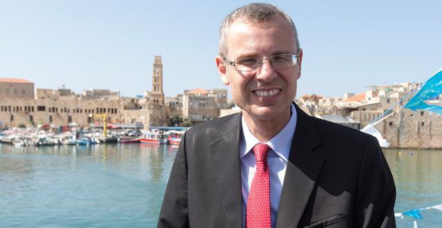 שר התיירות, יריב לוין (צילום: איתמר גרינברג)