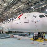 צפו: הרכבת מטוס אייר פראנס מדגם 787 בדקה וחצי