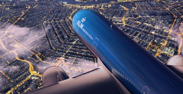 מטוס בואינג 787-9 של חברת KLM. צילום יחצ
