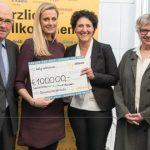ברית הסיוע של לופטהנזה תרמה 100 אלף אירו סיוע לפליטים