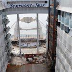 סימפוני אוף דה סיז : תמונות עדכניות מאוניית הקרוזים הגדולה בעולם