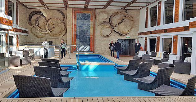 HAVEN -קומפלקס חלומי של סוויטות יוקרתיות הממוקם בסיפון מספר 19 בחרטום האנייה. צילום עוזי בכר