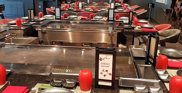 TEPPANYAKI – מסעדה יפנית ייחודית בעיצובה המרשים ובמנות המבטיחות התנסות קולינרית יוצאת דופן. צילום עוזי בכר