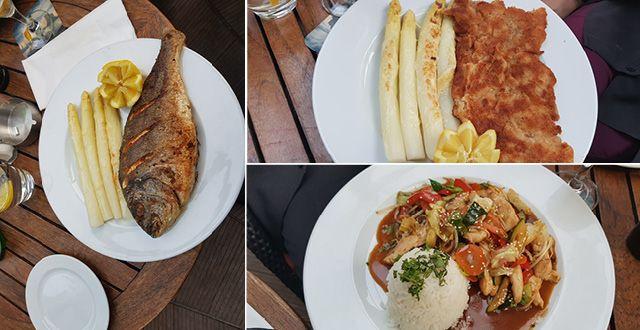 טעימה מהמנות המוגשות במסעדת Melange המבורג. צילום עוזי בכר