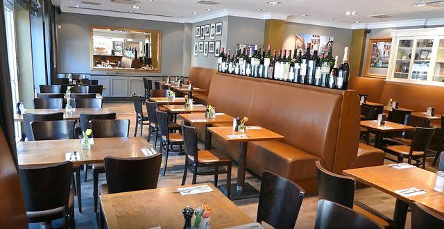 מסעדת Melange בהמבורג בניהולו של צביקה ביטון. צילום עוזי בכר
