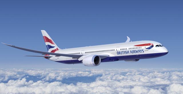 מטוס דרימליינר בואינג 787 של בריטיש איירווייס(צילום: יחסי ציבור)