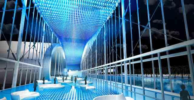 הדמיית הצד הפנימי של טרמינל NCL במיאמי. יחצ