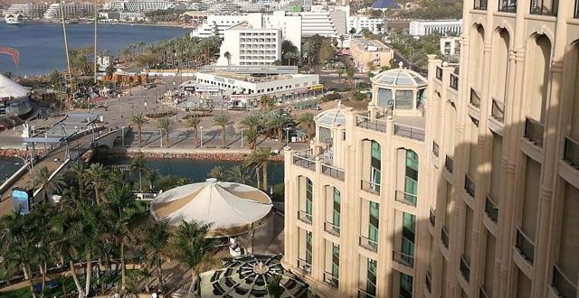 מלון מלכת שבא ואילת. צילום עירית רוזבלום