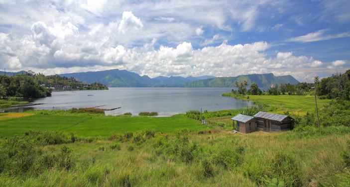 אגם טובה בקרבת מדן – בירת מחוז סומטרה. צילום Depositphotos