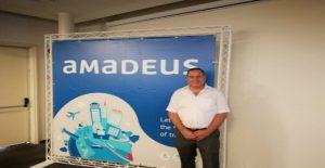 """גדי מור, מנכ""""ל אמדאוס בכנס סוכני נסיעות בישראל. צילום יחצ"""