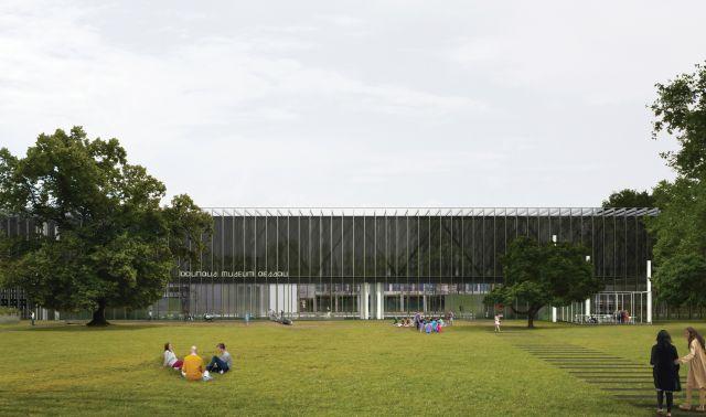 הדמיה של מוזיאון הבאוהאוס בדסאו שייפתח השנה. צילום Gonzalez-Hinz-Zabala