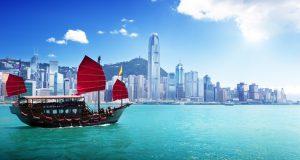 הונג קונג, נמל הבית של קתאי פסיפיק. צילום Depositphotos