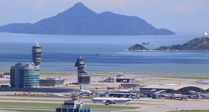 נמל התעופה הבינלאומי של הונג קונג. צילום Depositphotos