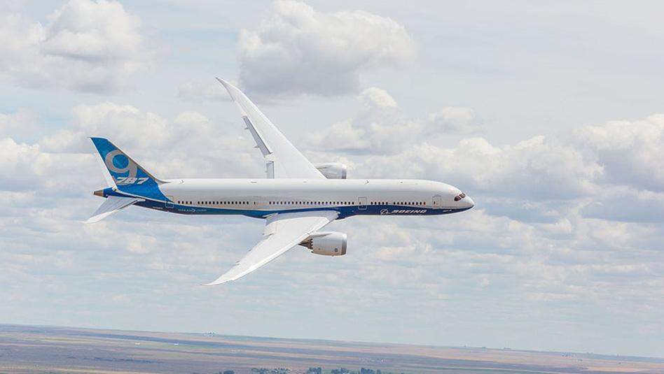 """מטוס בואינג 787-9. במבו איירווייס תרכוש 20 מטוסים . צילום יח""""צ"""