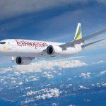 מטוס בואינג 737 MAX ראשון לאתיופיאן איירליינס