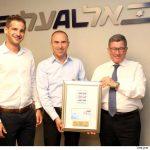 בול לציון 70 שנה לתעופה האזרחית בישראל