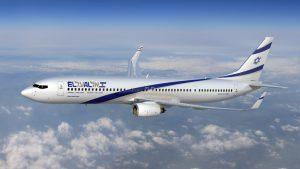 """אל על: מטוס בואינג 737-900. מחלקת העסקים חוזרת בקווים לברלין וקייב. צילום יח""""צ"""