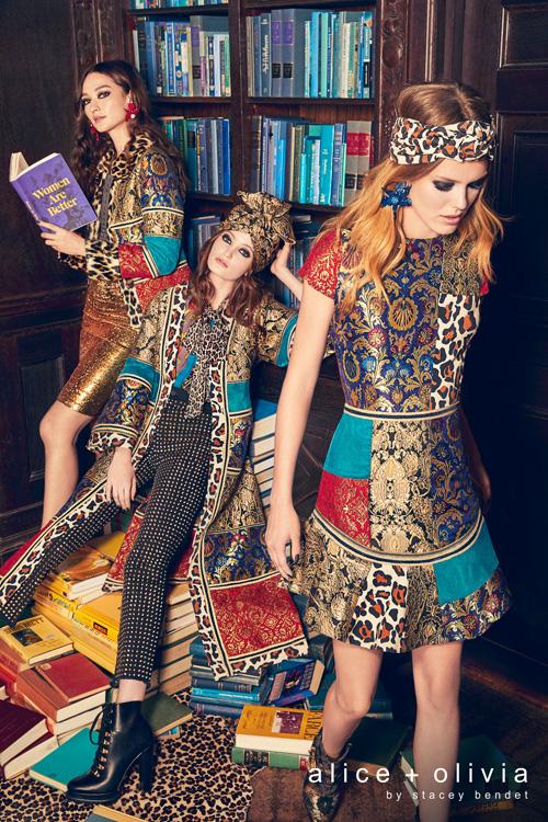 """קולקציית האופנה של אליס ואוליביה . צילום יח""""צ"""