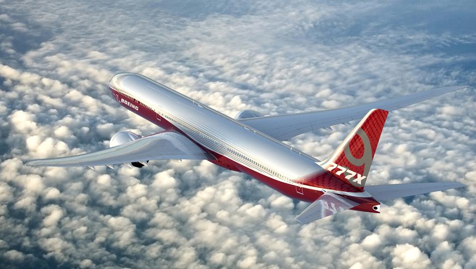 מטוס בואינג 777-9. צילום בואינג