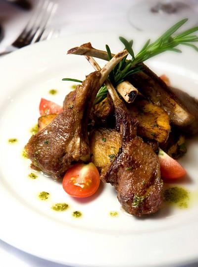 """אחת מיצירות המטבח של אושיאניה קרוזס. צילום יח""""צ"""