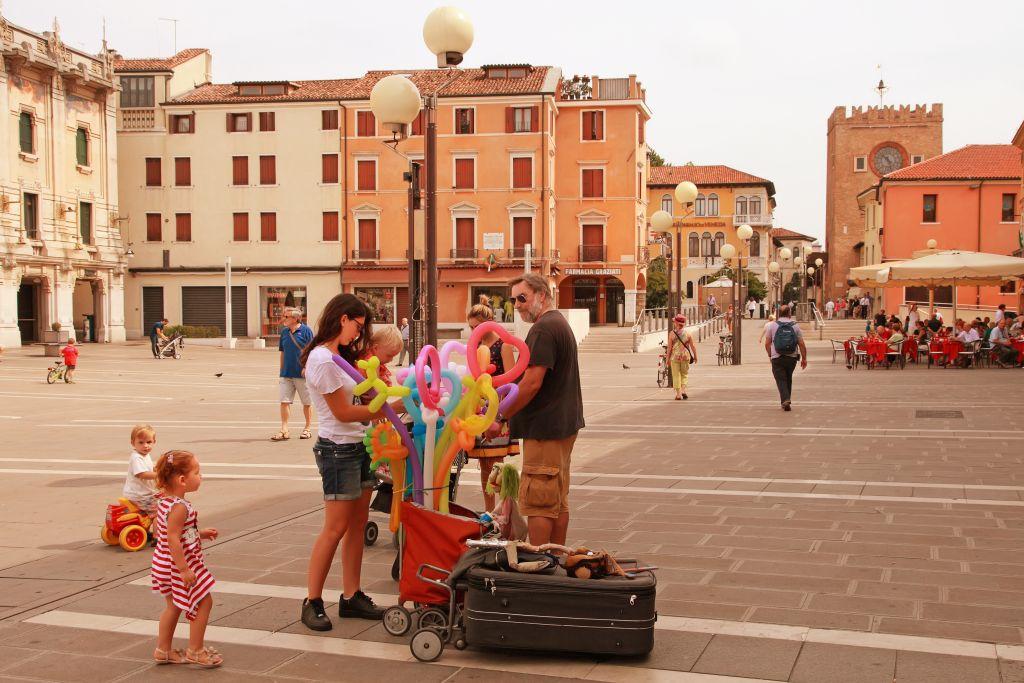 Mestre שליד ונציה באיטליה. פתאל אירופה תפתח שם בקיץ מלון לאונרדו רויאל. צילום Depositphotos