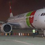 טאפ אייר פורטוגל חנכה את הטיסה הראשונה מליסבון