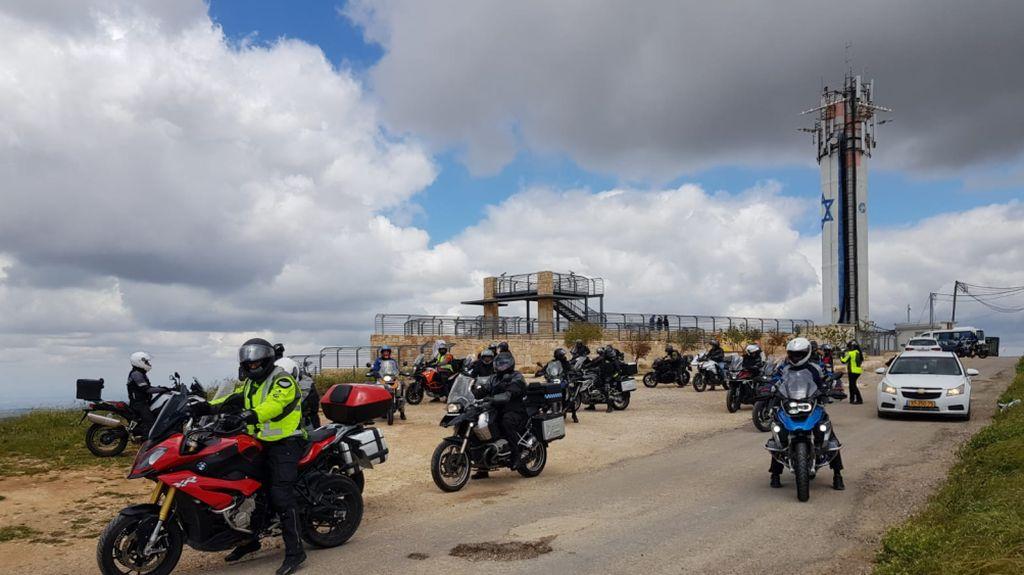 מסע אופנועים בפסח בגוש עציון. צילום תיירות גוש עציון