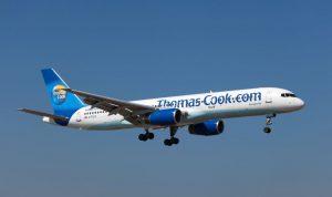 מטוס בואינג 757-200 של תומאס קוק. לחברה 105 מטוסים. צילום Depositphotos