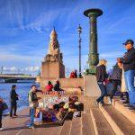 פוטין אישר מס של 1.5 דולר ביום מתיירים בסנט פטרסבורג