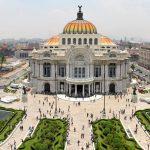 תערוכת משרד המדע והטכנולוגיה הישראלי בשדרה מרכזית במקסיקו סיטי