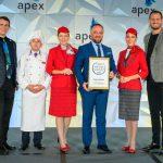 חמישה כוכבים של APEX לטורקיש אירליינס