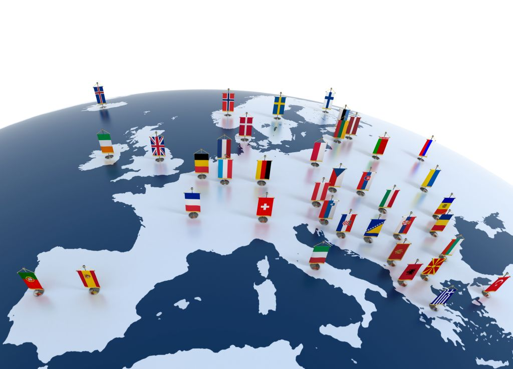 מדינות ביבשת אירופה. הגבולות נפתחים מ-15 ביוני. צילום Depositphotos