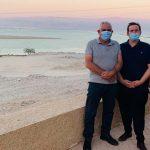 שר התיירות, אסף זמיר, ביקר במועצה האזורית תמר ים המלח