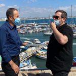 אסף זמיר ערך את הסיור הראשון שלו בעכו כשר התיירות