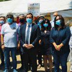 שר התיירות הגיע לביקור באוהל המחאה