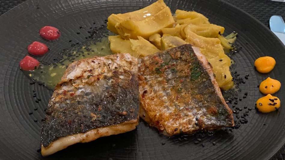 אוכל של מסעדת שף. צילום גלי לויטה ליבוביץ