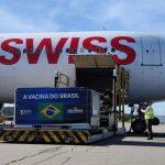 חברת Swiss WorldCargo הטיסה 14 טון של חיסוני קורונה סינים