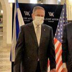 וולדורף אסטוריה ירושלים מארח את סטיבן מנוצ'ין, שר האוצר האמריקאי