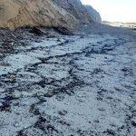 """צה""""ל התגייס למאמץ בניקיון החופים מפיגוע הזפת"""