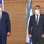 שר החוץ אשכנזי נפגש היום בירושלים עם שר החוץ היווני, ניקוס דנדיאס