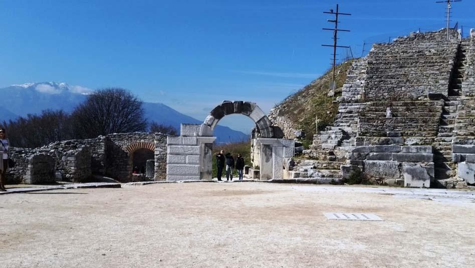 """פיליפי (Philippi) , אתר מורשת עולמית של אונסק""""ו. צילום שוש להב"""