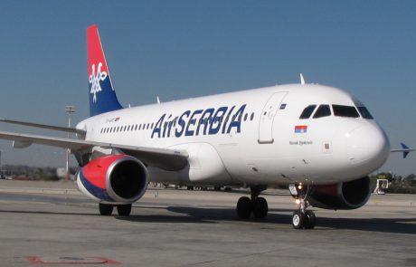 אייר סרביה מחדשת את הטיסות לישראל