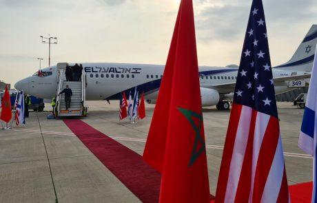 מטוס קריית מלאכי של אל על יבצע את הטיסה ההיסטורית לרבאט, מרוקו