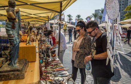 ארטי-שוק, יריד ססגוני חדש בשישי באשדוד