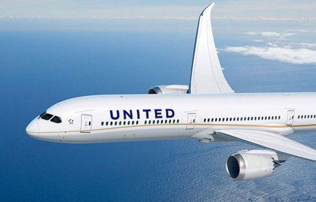 יונייטד תפעיל בקו לניו יורק את מטוס הבואינג 787-10 החדש