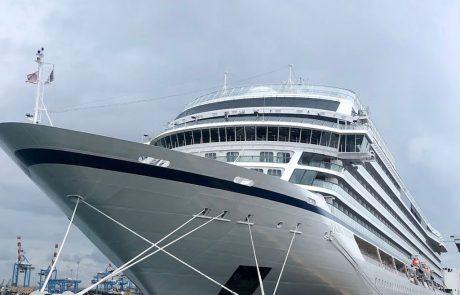 האוניה החדשה וייקינג ג'ופיטר פקדה את נמל חיפה