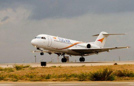 טיסה ראשונה ל-TUS משדה דב ללרנקה