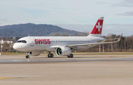 חברת התעופה SWISS קיבלה את האיירבוס A320neo הראשון שלה