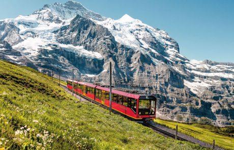 בין הרים מושלגים לטיול כרמים: בדרך לטיול עוצרים בשוויץ